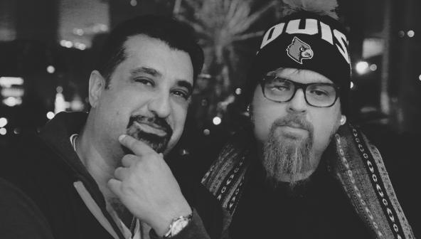 Jonathan Hay and DJ King Tech (Photo by Sabrina Hale for Jonathan Hay Celebrity)