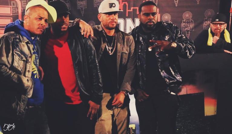 TI, Sway Calloway, DJ Drama, Kxng Crooked, Jonathan Hay (Photo by Sabrina Hale)