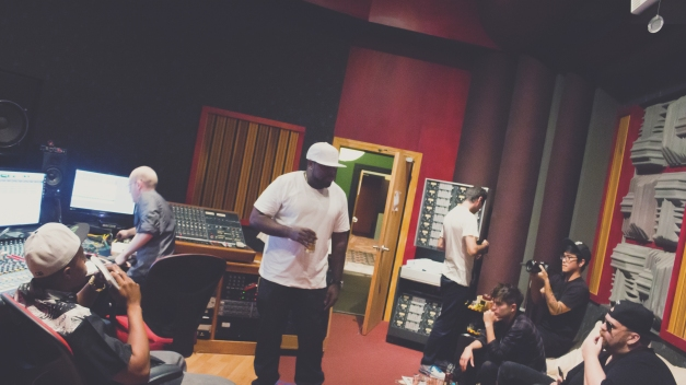 Kxng Crooked and Jonathan Hay (In Louisville, Kentucky Recording Studio)