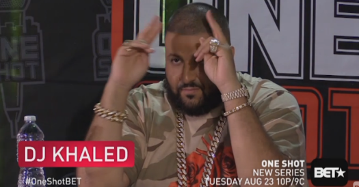 DJ Khaled One Shot BET Jonathan Hay Publicity